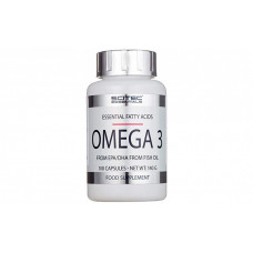 Scitec Nutrition Essentials Omega-3 100 капсул