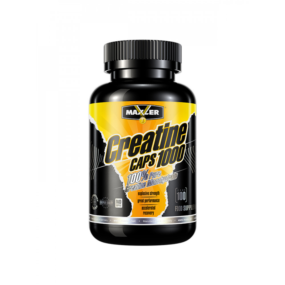 Maxler Creatine Caps 1000 100 капсул