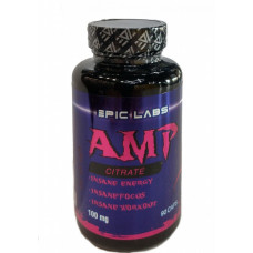 Epic Labs AMP Citrate100 мг. 90 капсул