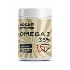 GREAT OMEGA 35% 90 капсул