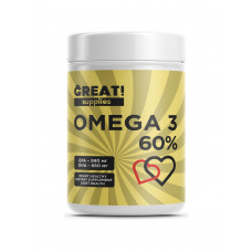 GREAT OMEGA 60% 90 капсул