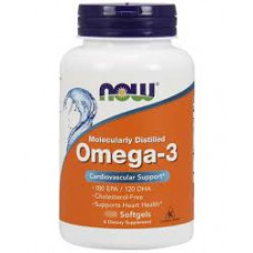 NOW Omega-3 1000 мг. 200 капсул