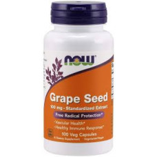 NOW GRAPE SEED 100 mg 100 капсул