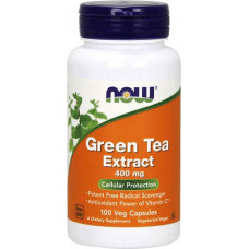 NOW Green Tea Extract 400 mg 100 капсул