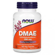 NOW DMAE 250 мг 100 капсул