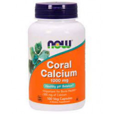 NOW Coral Calcium 1000 мг 100 капсул