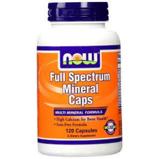 NOW Full Spectrum Minerals 120 капсул